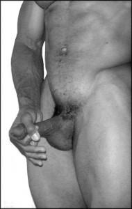 Instrução de pênis mega de creme