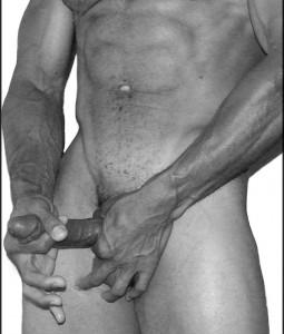 A pessoa com o pênis mais pequeno